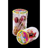 Lollipops - 150g - 15 klubbor/burk