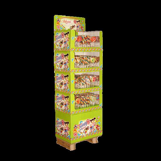 Twisty Lollipops - 60g/st