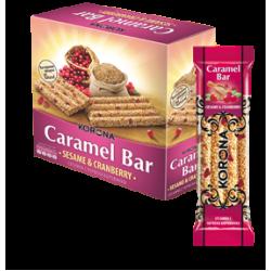 Caramelbar - Sesam & Tranbär - 60g